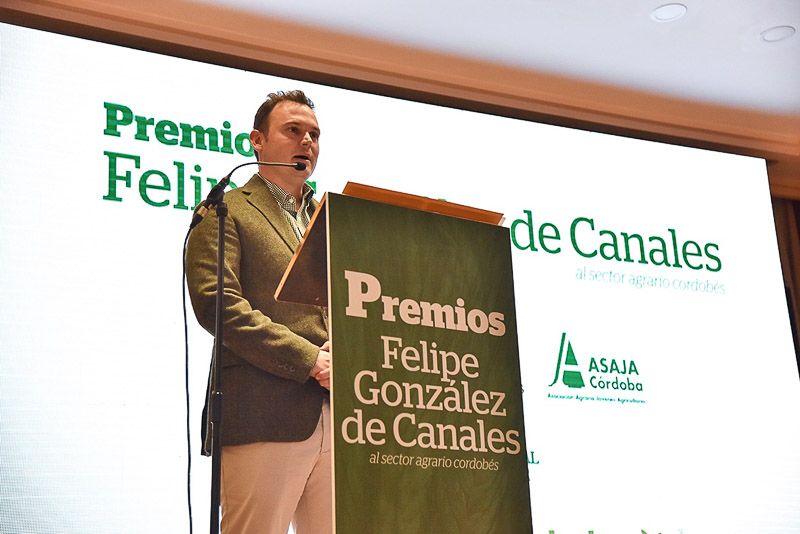 Rafael muñoz se gana su sitio en la primera edición de los premios Felipe González de Canales