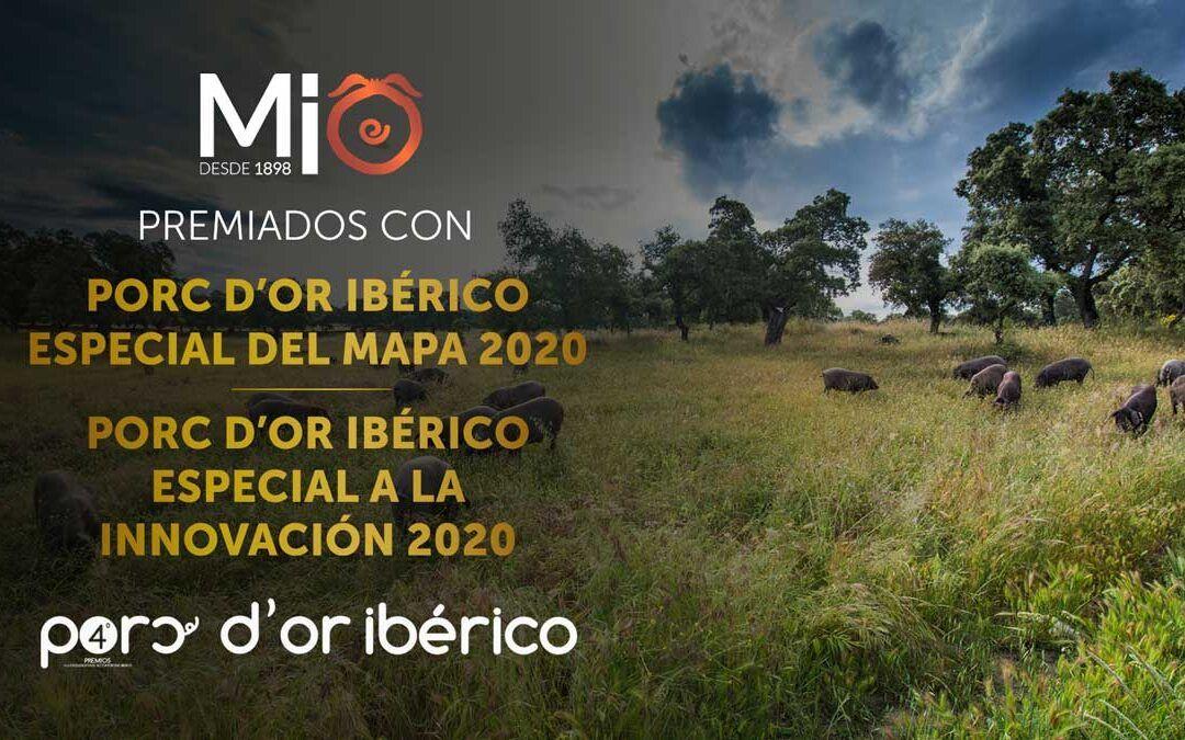 MIO1898, doblemente galardonada en los premios Porc d'Or Ibérico 2020